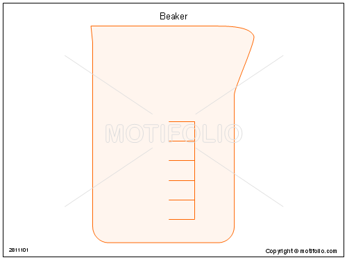 Beaker, PPT PowerPoint drawing diagrams, templates, images, slides