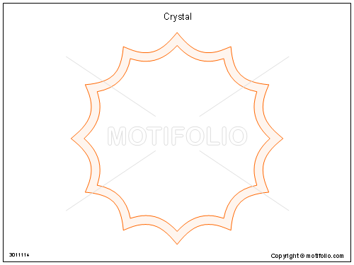 Crystal, PPT PowerPoint drawing diagrams, templates, images, slides