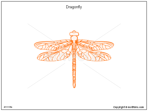 dragonfly ppt powerpoint drawing diagrams templates images slides : dragonfly diagram - findchart.co