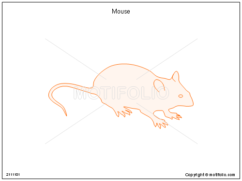 Line Drawing Mouse : Mouse illustrations