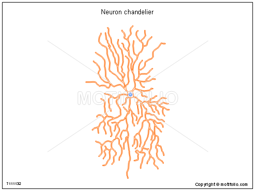 Neuron chandelier, PPT PowerPoint drawing diagrams, templates, images, slides