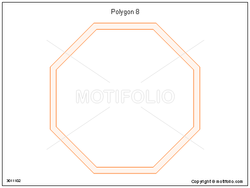 Polygon 8, PPT PowerPoint drawing diagrams, templates, images, slides