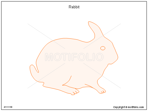 Rabbit, PPT PowerPoint drawing diagrams, templates, images, slides