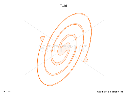 Twirl, PPT PowerPoint drawing diagrams, templates, images, slides